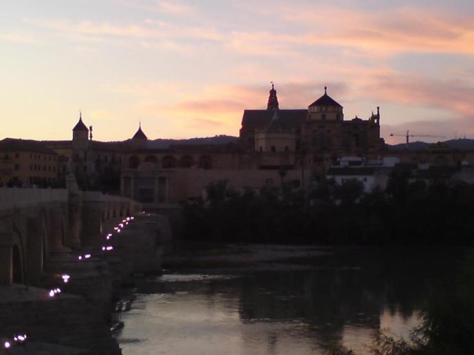 Mezquita twilight
