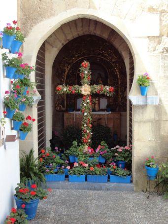 Patio cross